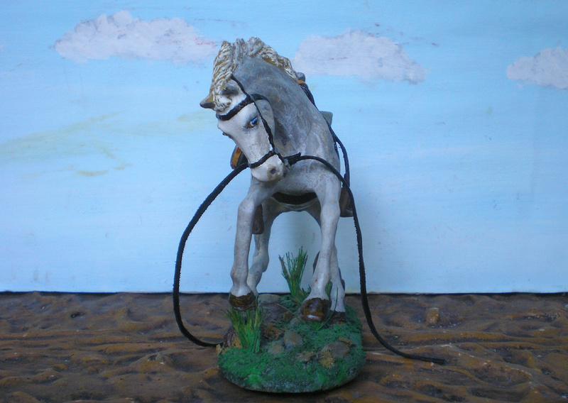 Cowboy zu Pferd mit Lasso - Umbau in der Figurengröße 7 cm - Seite 2 139j4a15