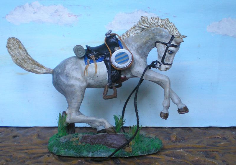 Cowboy zu Pferd mit Lasso - Umbau in der Figurengröße 7 cm - Seite 2 139j4a16