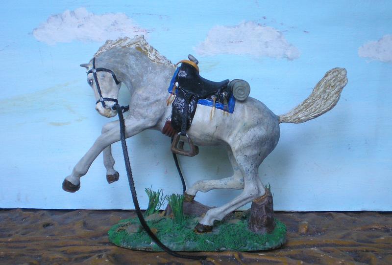 Cowboy zu Pferd mit Lasso - Umbau in der Figurengröße 7 cm - Seite 2 139j4a17