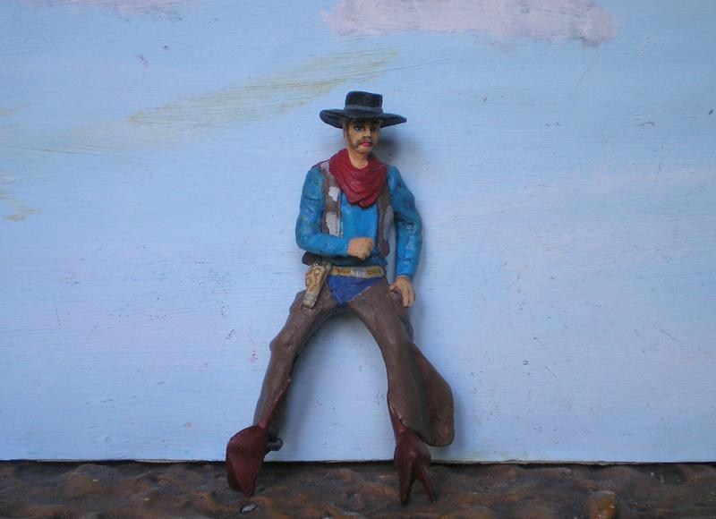 Bemalungen, Umbauten, Modellierungen - neue Cowboys für meine Dioramen - Seite 10 152e2a12
