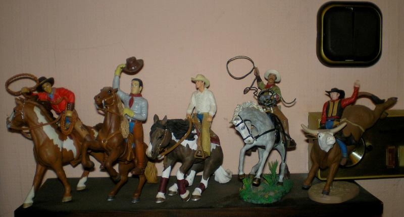 Cowboy zu Pferd mit Lasso - Umbau in der Figurengröße 7 cm - Seite 2 20170815