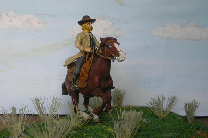 Bemalungen, Umbauten, Modellierungen - neue Cowboys für meine Dioramen - Seite 10 German18