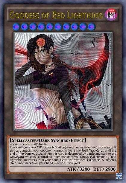 """Red Lightning"" archetype Goddes11"