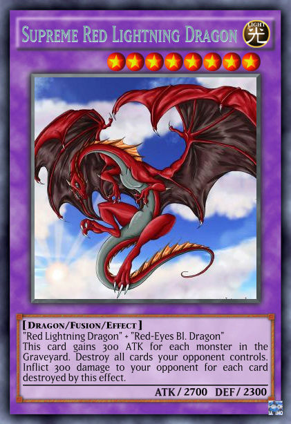 """Red Lightning"" archetype Suprem11"
