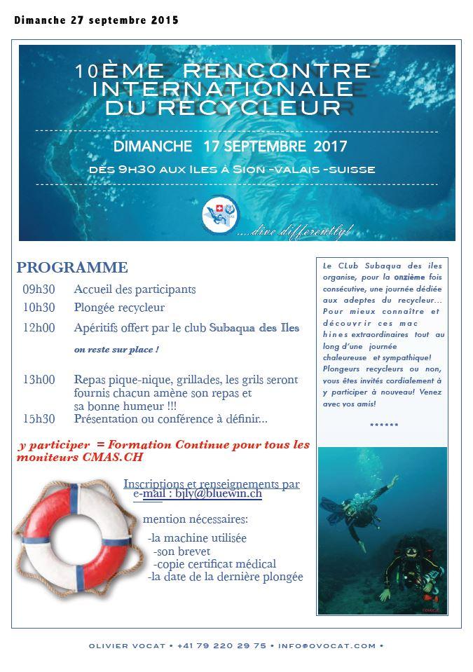 10ème rencontre internationale de recycleurs, 17 septembre 2017 en Valais Sortie10