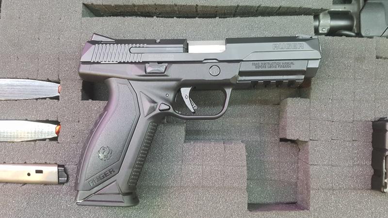 Ruger American Pistol .45  20170711