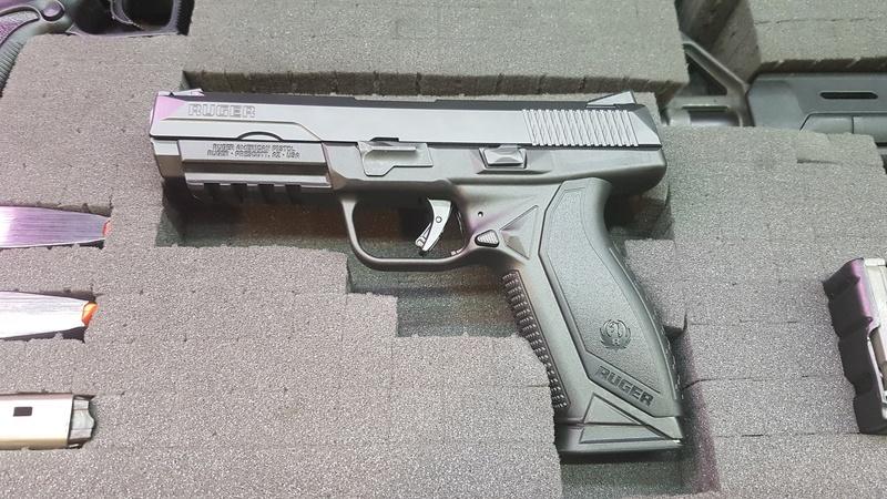 Ruger American Pistol .45  20170712
