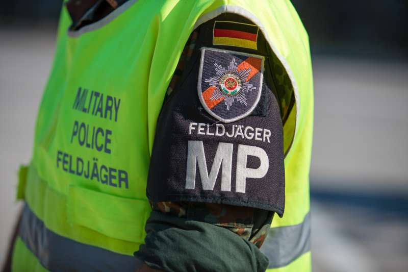 German Army MP feldjager jacket 16091310