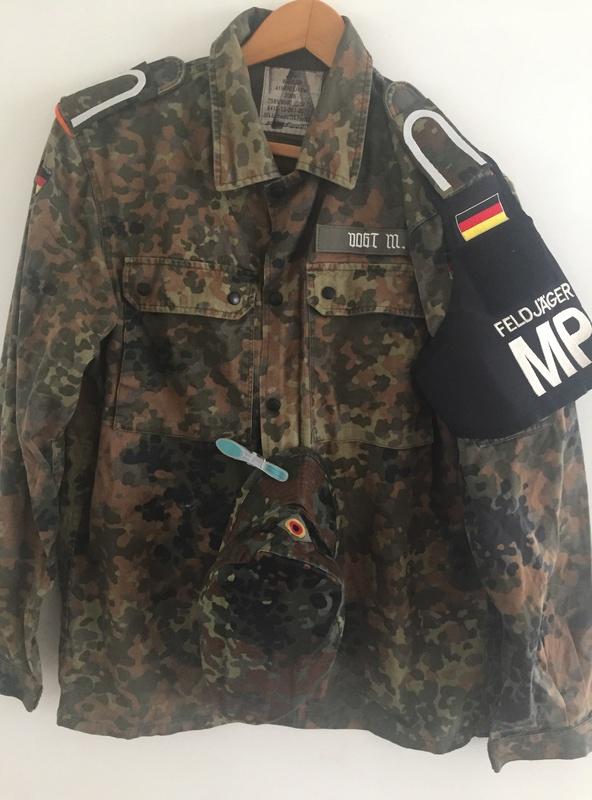 German Army MP feldjager jacket Img_6611