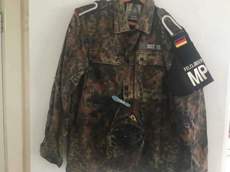 German Army MP feldjager jacket Img_6612