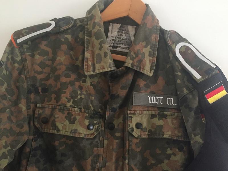 German Army MP feldjager jacket Img_6613