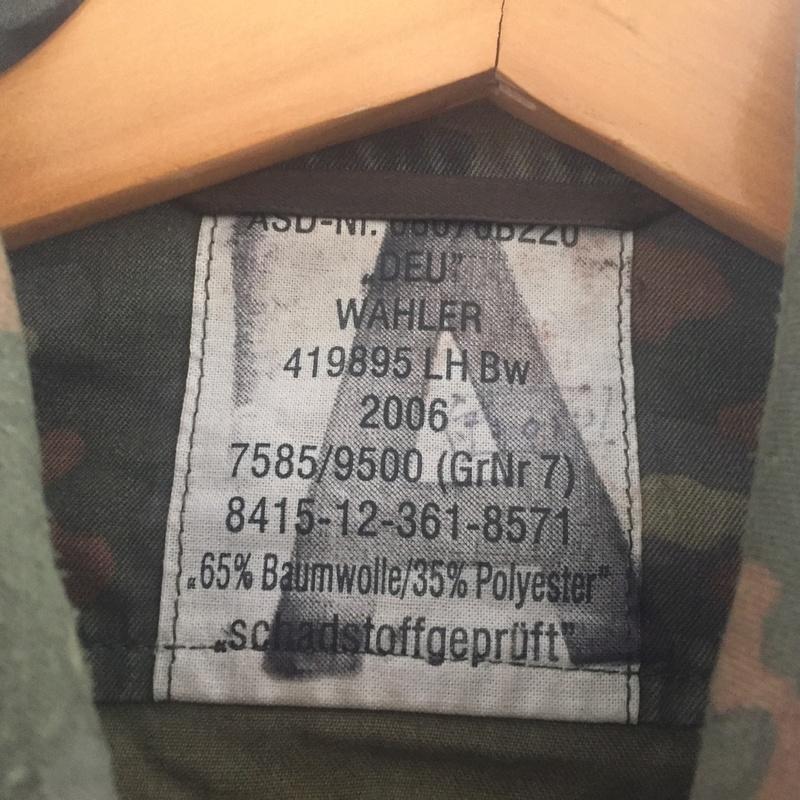 German Army MP feldjager jacket Img_6615