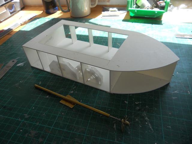 New Build - lake tour boat Dscn0611