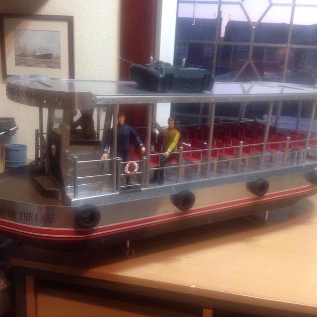 New Build - lake tour boat S-l16010