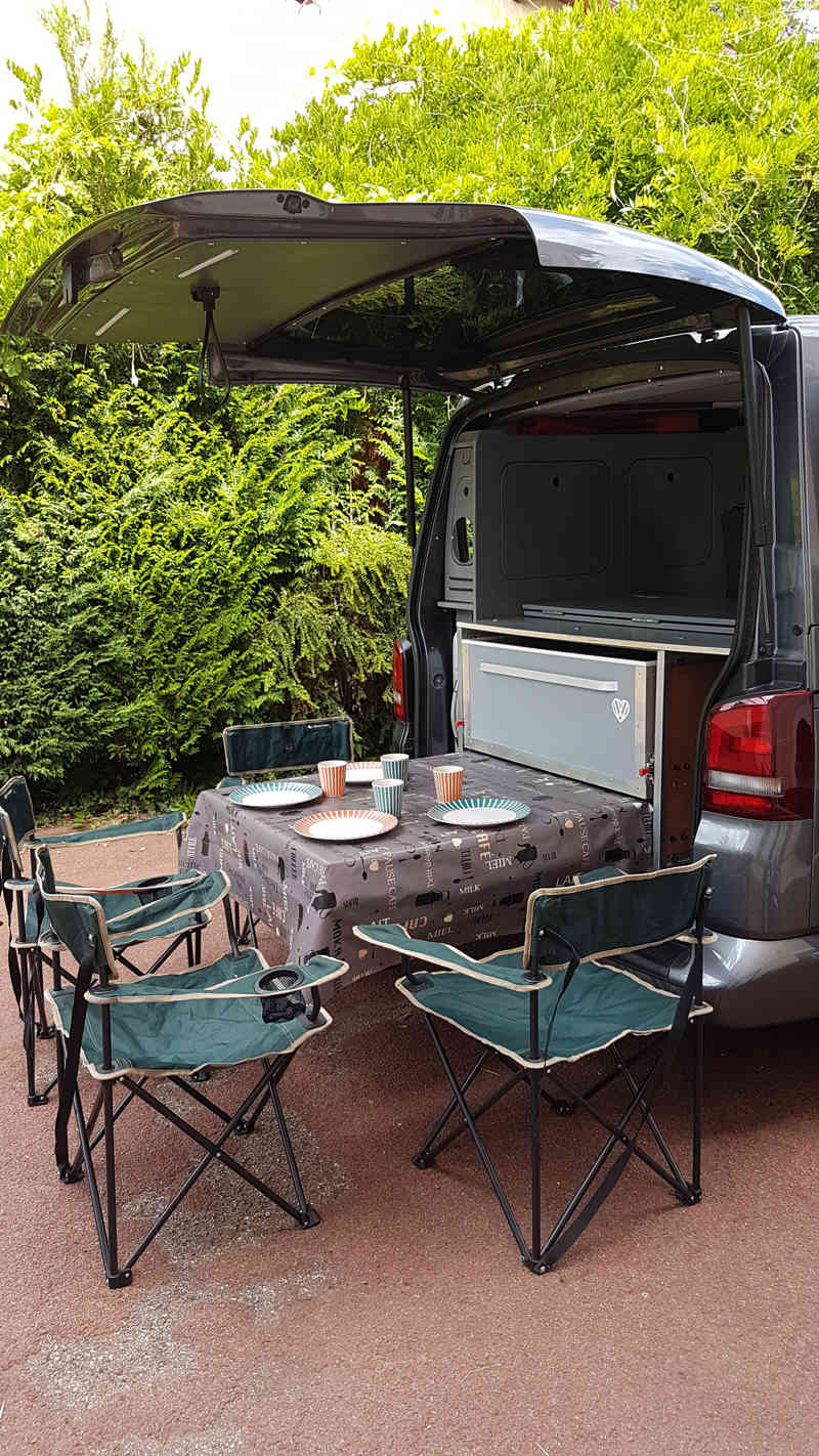 VENDU - Transporter 5 places  140 cv dsg7 toit HILO  Table11
