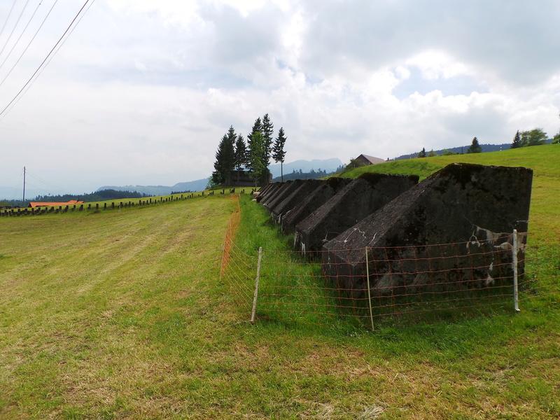 Fortifications en Suisse 20170510