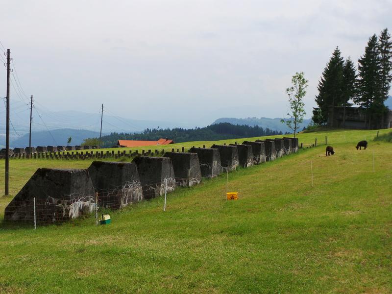 Fortifications en Suisse 20170514