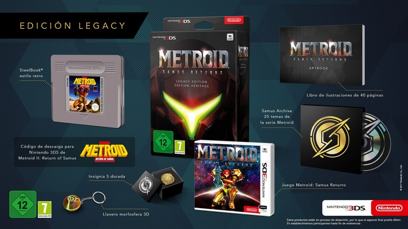 METROID 3DS: SAMUS RETURN LEGACY EDITION 14981510