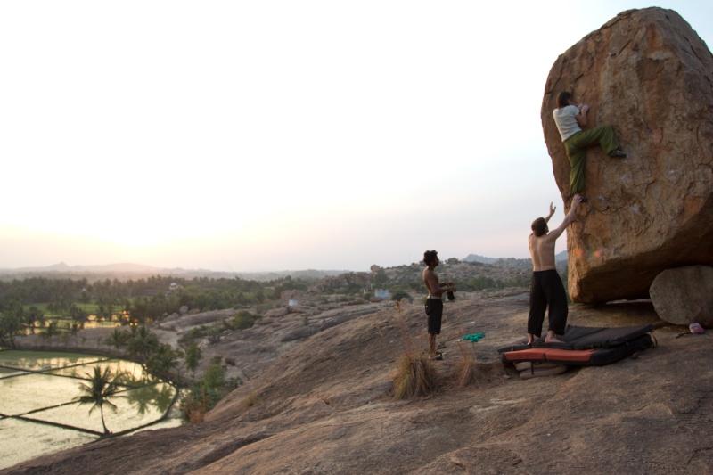 Hampi, le bloc a l'Indienne Img_8710
