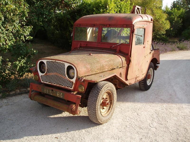 Jeep de fabrication Française P1010610