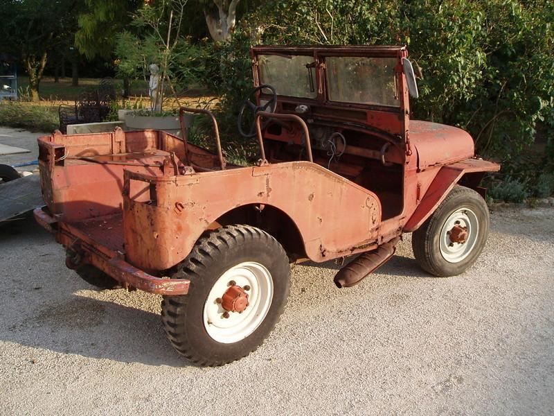 Jeep de fabrication Française P1010616