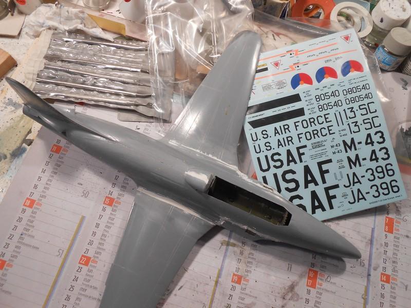 LOCKHEED  T-33 A AA de Spécial Hobby. Lockhe44