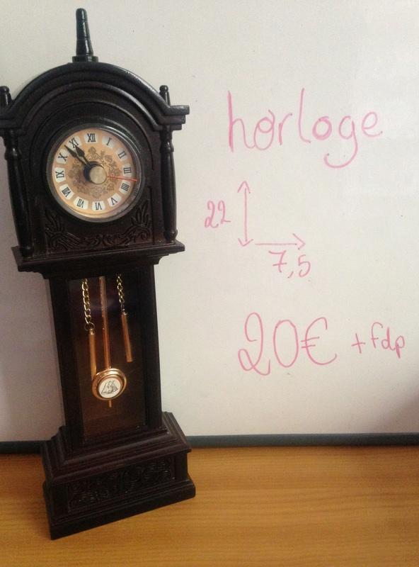 [Vente] Meubles: Horloge ancienne 22cm Image10
