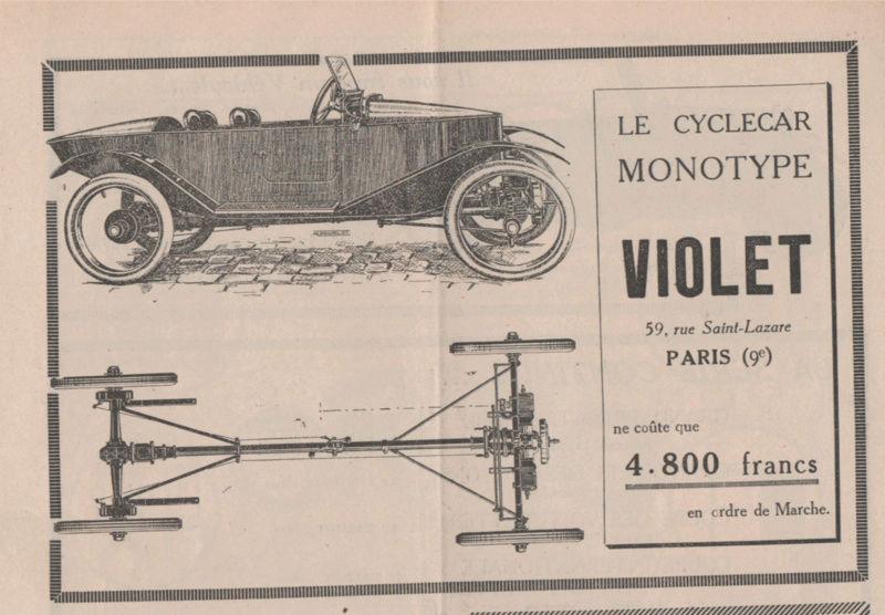 SIMA VIOLET cyclecar - Page 7 Image310