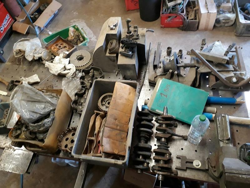 [Oldies] Restauration de mon side-car des années 1974/1975 (chassis court) 20170811