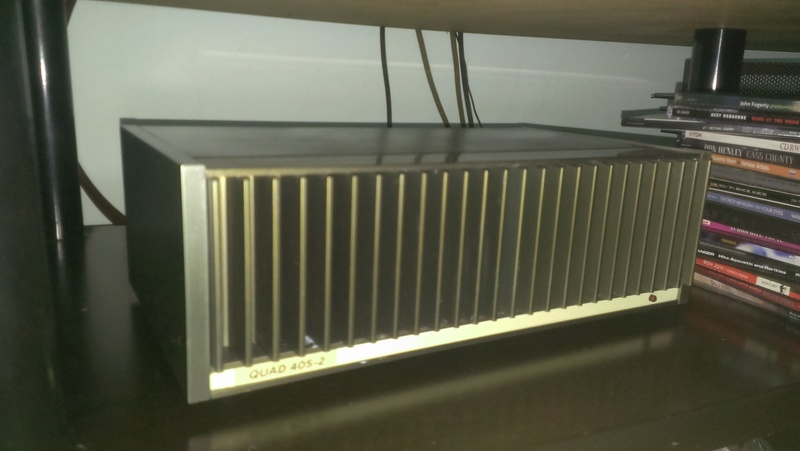 Quad 405-2 Power Amp (Closed)