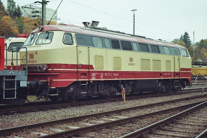 Die V160-Familie, Baureihe 210-219 der DB 2015-110