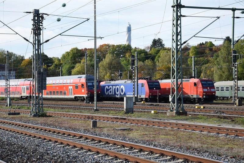 Rastatt Umleiter auf der Gäubahn zwischen Horb und Rottweil Dsc_0016