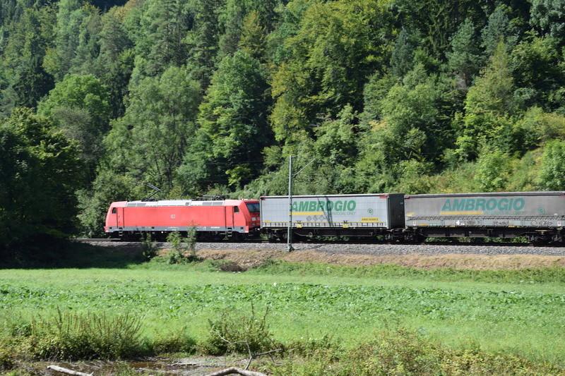 Rastatt Umleiter auf der Gäubahn zwischen Horb und Rottweil Dsc_0814