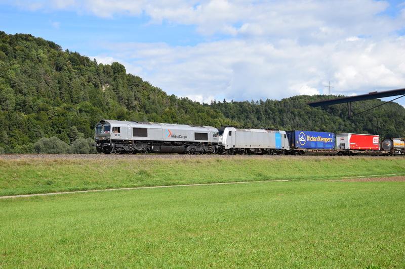 Rastatt Umleiter auf der Gäubahn zwischen Horb und Rottweil Dsc_0915