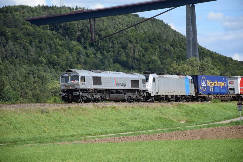 Rastatt Umleiter auf der Gäubahn zwischen Horb und Rottweil Dsc_0917