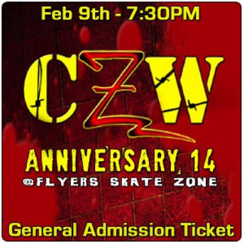 CZW Anniversary 14 du 09/02/2013 Czwgat10