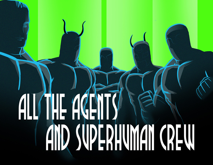 CHIKARA All the Agents and Superhuman Crew du 09/02/2013 Superc10