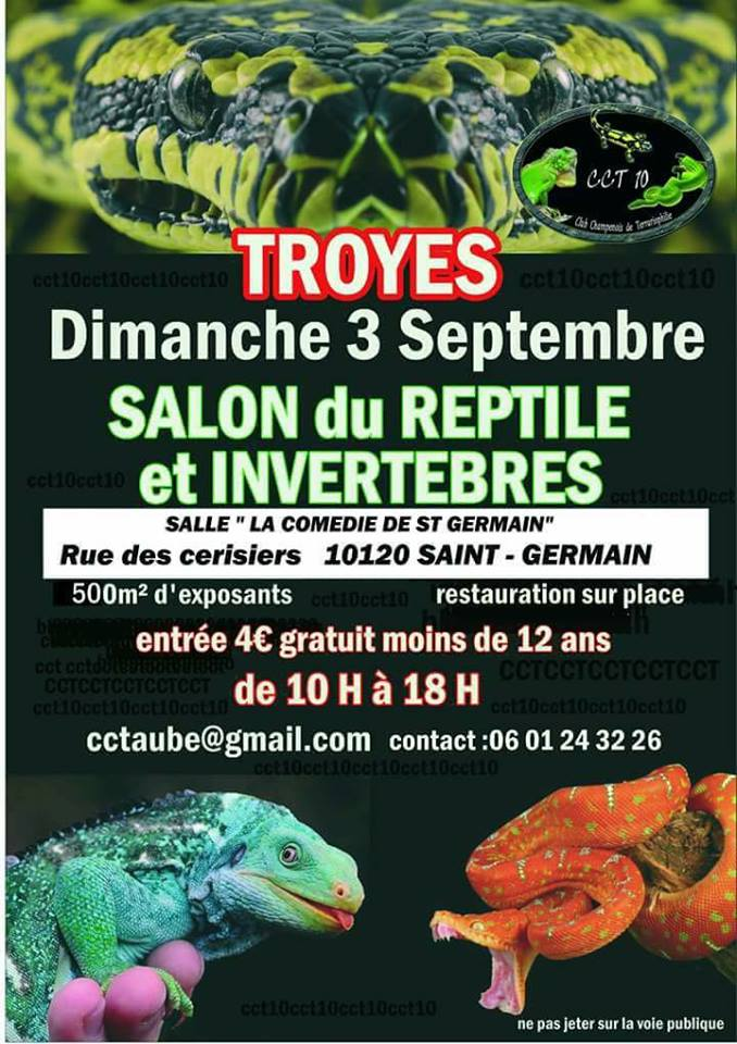 Bourse Reptile TROYES 2017  19511510