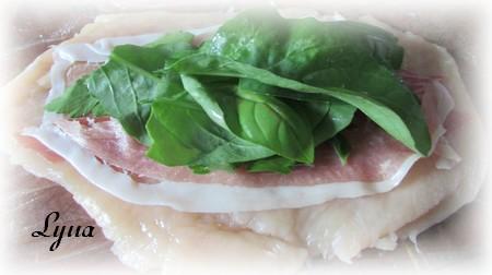 Escalopes de poulet au prosciutto et fines herbes Escalo10