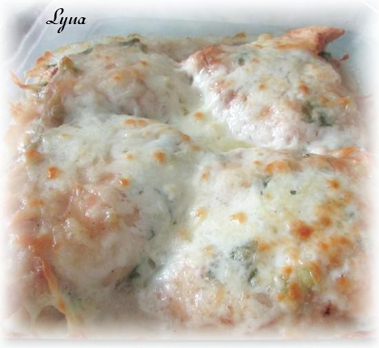 Escalopes de poulet au prosciutto et fines herbes Escalo13