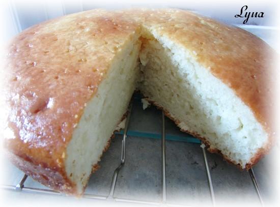 Gâteau au yogourt grec et crème sûre Gateau13