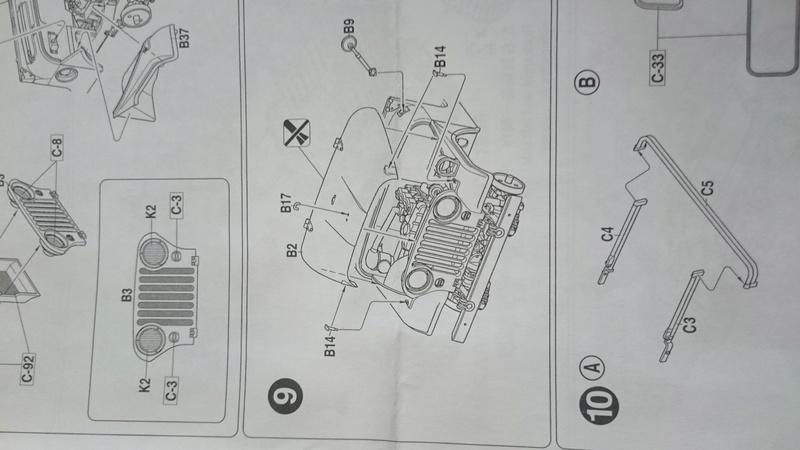 RESOLU Cherche capot Jeep M38A1 - AFV CLUB - 1/35 Dsc_0013