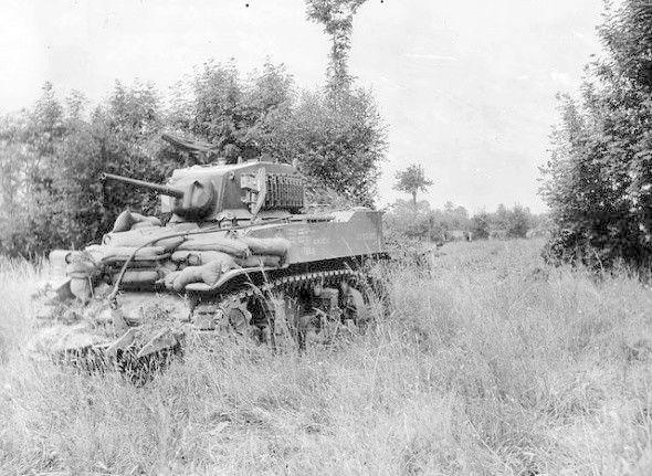 Char M5 Stuart Normandie 1944 1/35 Tamiya  M510