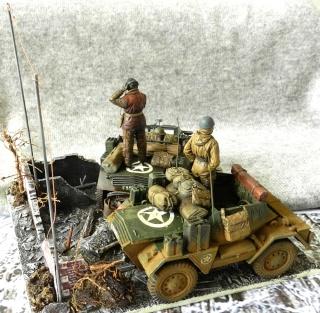 Les rats du désert en Allemagne, 1945 00814