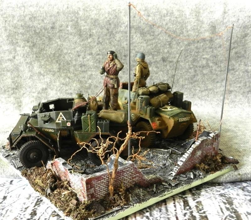 Les rats du désert en Allemagne, 1945 01111