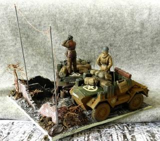Les rats du désert en Allemagne, 1945 01212