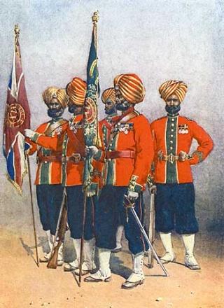 15th Bengal Native Infantry regiment D11
