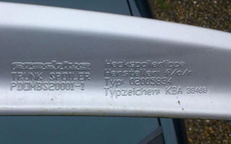 Suche ABE für Abrißkante Opel Omega B FL Kgrhqn10