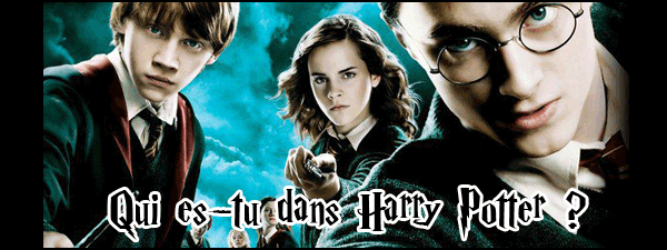 Quel personnage de Harry Potter es-tu ? Quiest10