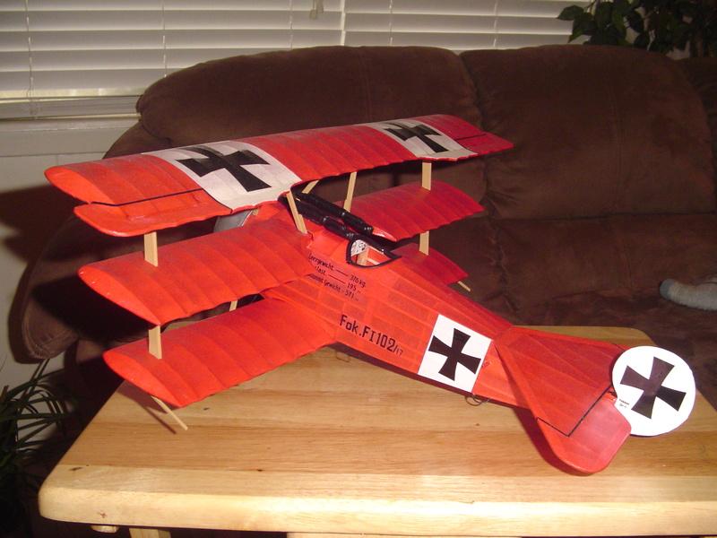 My Sterling Fokker DR-1 Fokker12